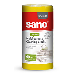 Sano Multi-Purpose Cleaning Cloths