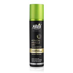 Dry Shampoo for Straightened or Keratin-Treated Hair