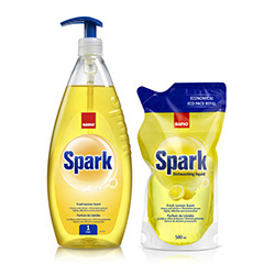 Sano spark  Fresh lemon scent