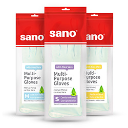 Sano Multi-Purpose Gloves with Aloe Vera